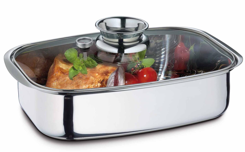 Küchenprofi Aromabräter & Dampfgarer