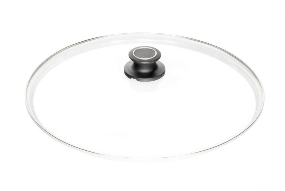 AMT Glasdeckel rund mit Deckelknauf, 36 cm