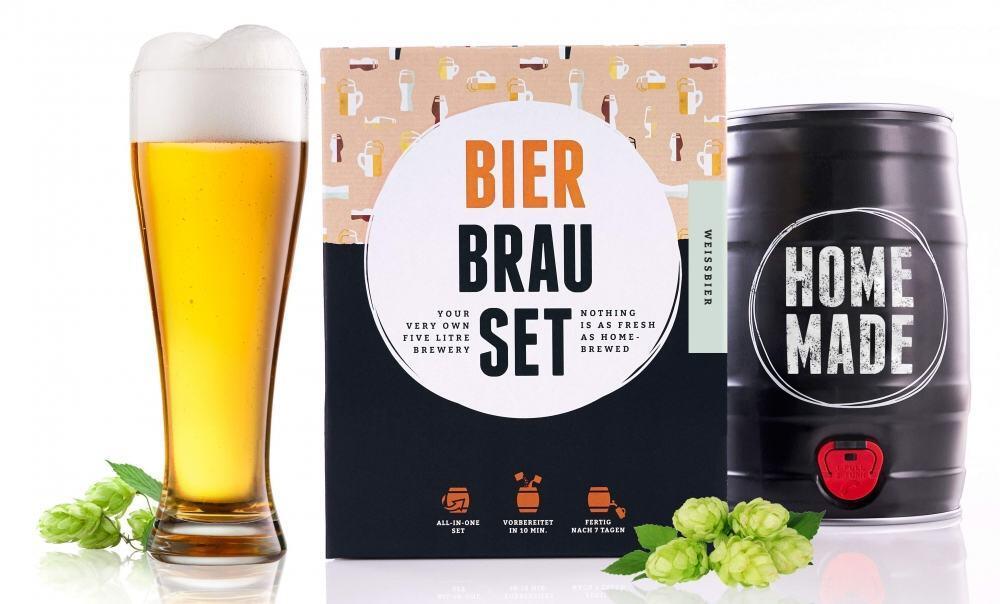 Braufässchen Bierbrau-Set für Weißbier