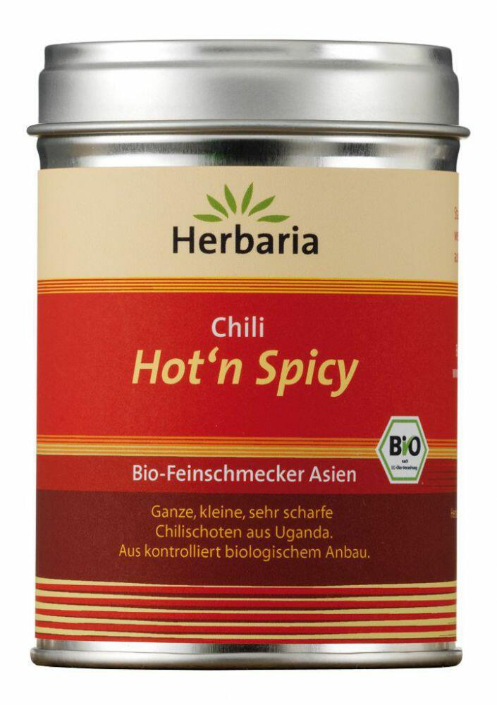 Herbaria Hot'n Spicy, Chilis geschrotet