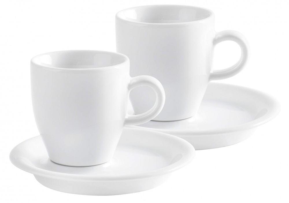 Kahla Café Sommelier Espresso Doppio Set 4tlg. in weiß