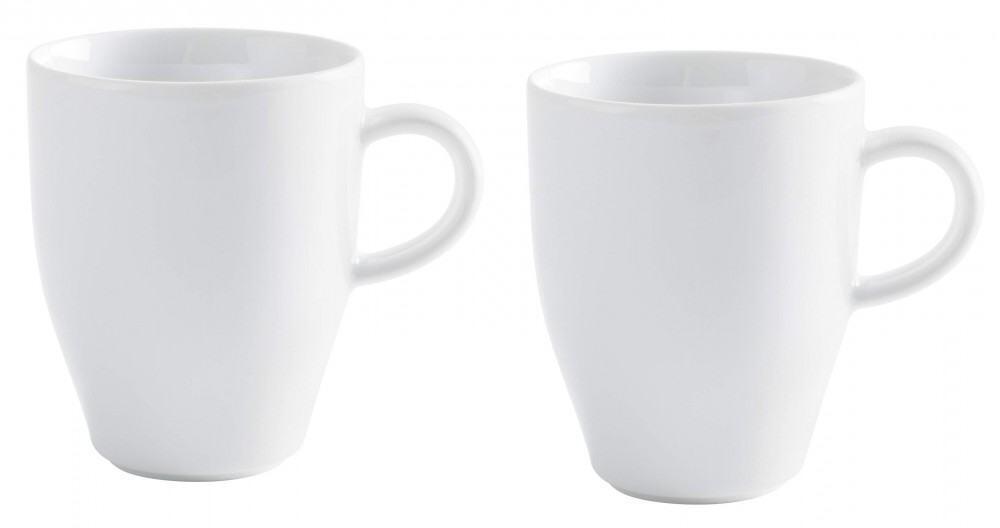 Kahla Café Sommelier Kaffeebecher Set 2tlg. in weiß