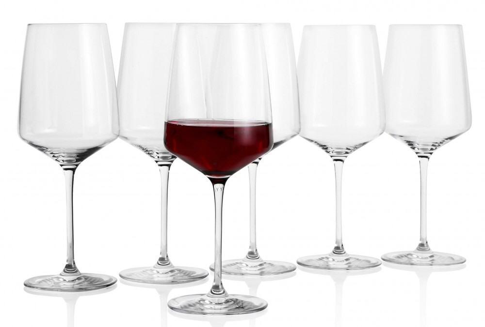 erik bagger Burgunder Rotweinglas Carmen, 6er Set