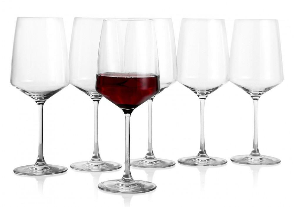 erik bagger Rotweinglas Carmen, 6er Set