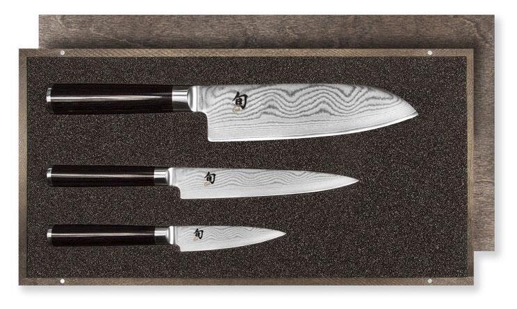 KAI Shun Classic Messerset mit Santoku, 3-teilig