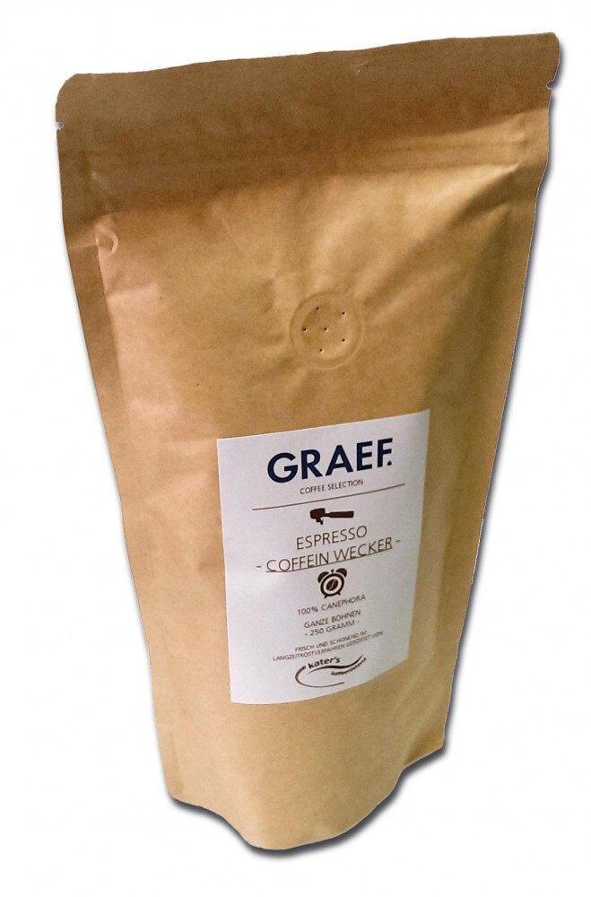 Graef Espressokaffee Koffeinwecker (100% Canephora), 250 g