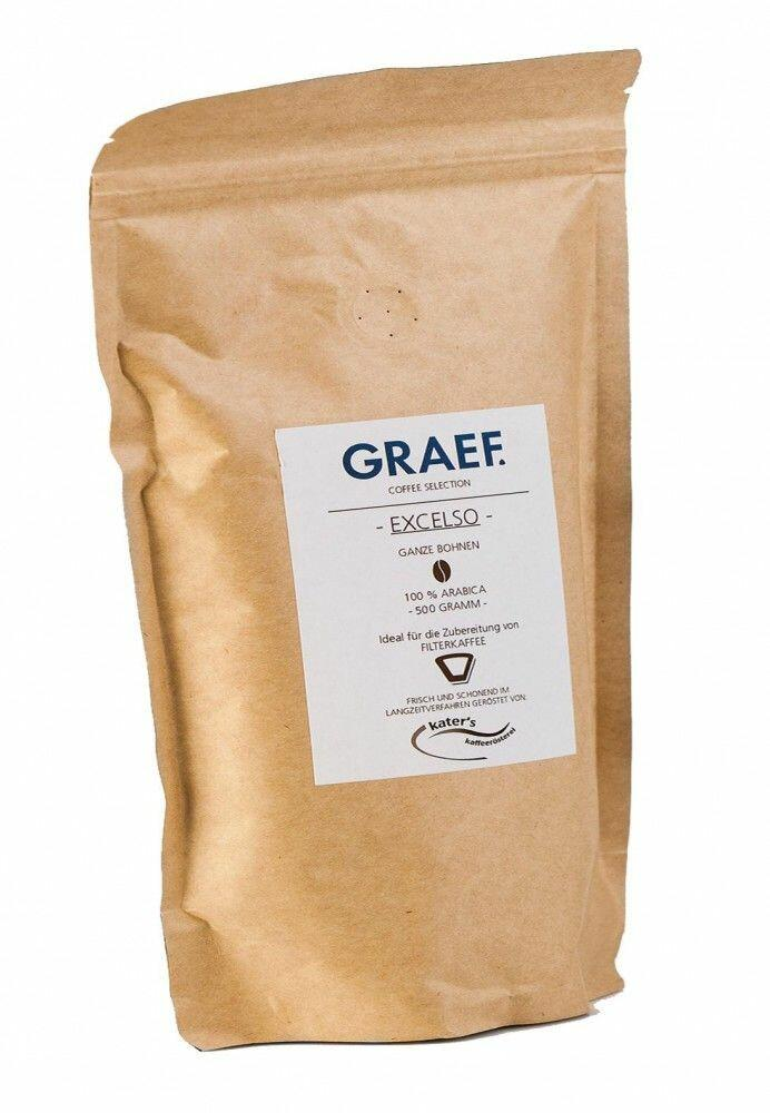 Graef Filterkaffee Excelso (100% Arabica), 500g