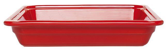 Emile Henry GN-Schale rechteckig 2/3 in rot