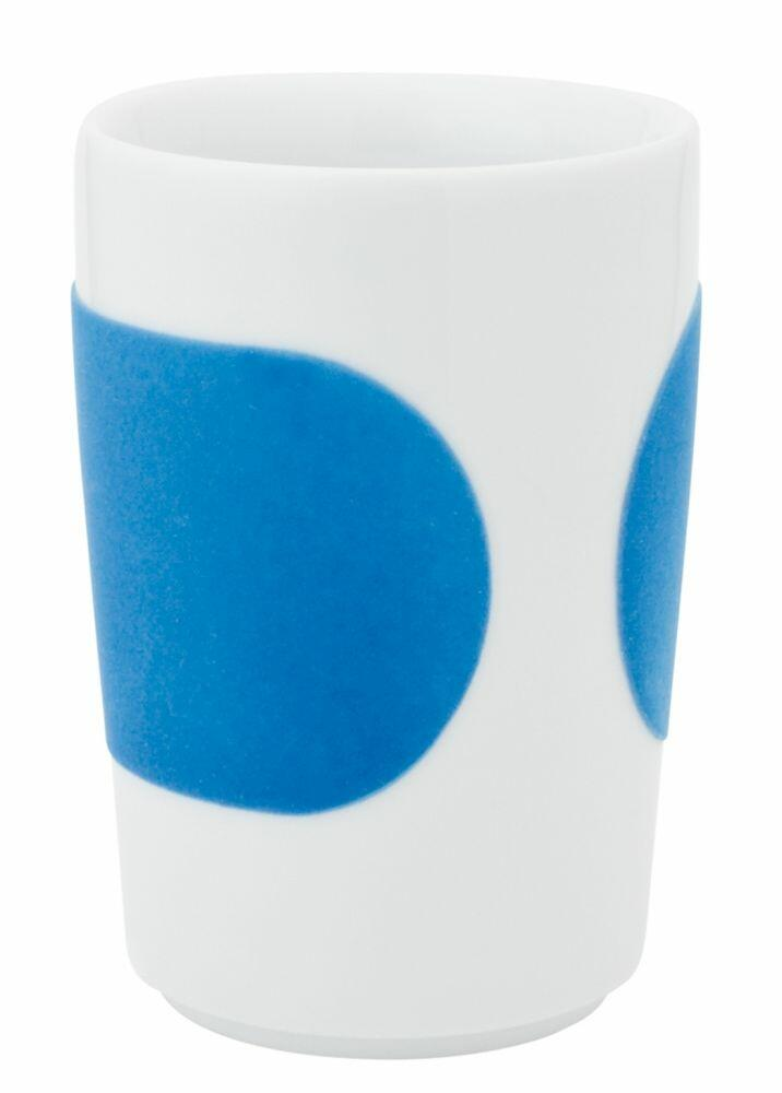 Kahla Five Senses Maxi-Becher 0,35 l in touch! cyan