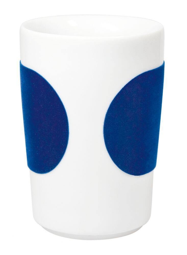 Kahla Five Senses Maxi-Becher 0,35 l in touch! dunkelblau