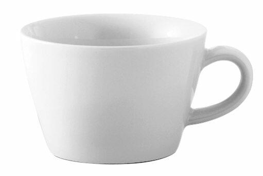 Kahla Five Senses Cappuccino-Obertasse 0,25 l in weiß