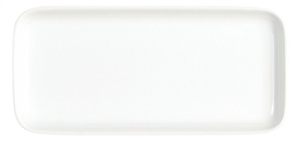 Kahla Abra Cadabra Tablett rechteckig 20 x 9 cm in weiß
