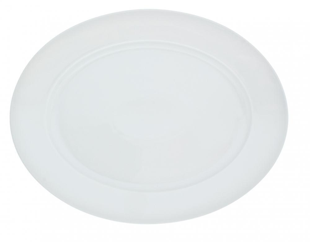 Kahla Aronda Platte, oval 32 cm in weiß