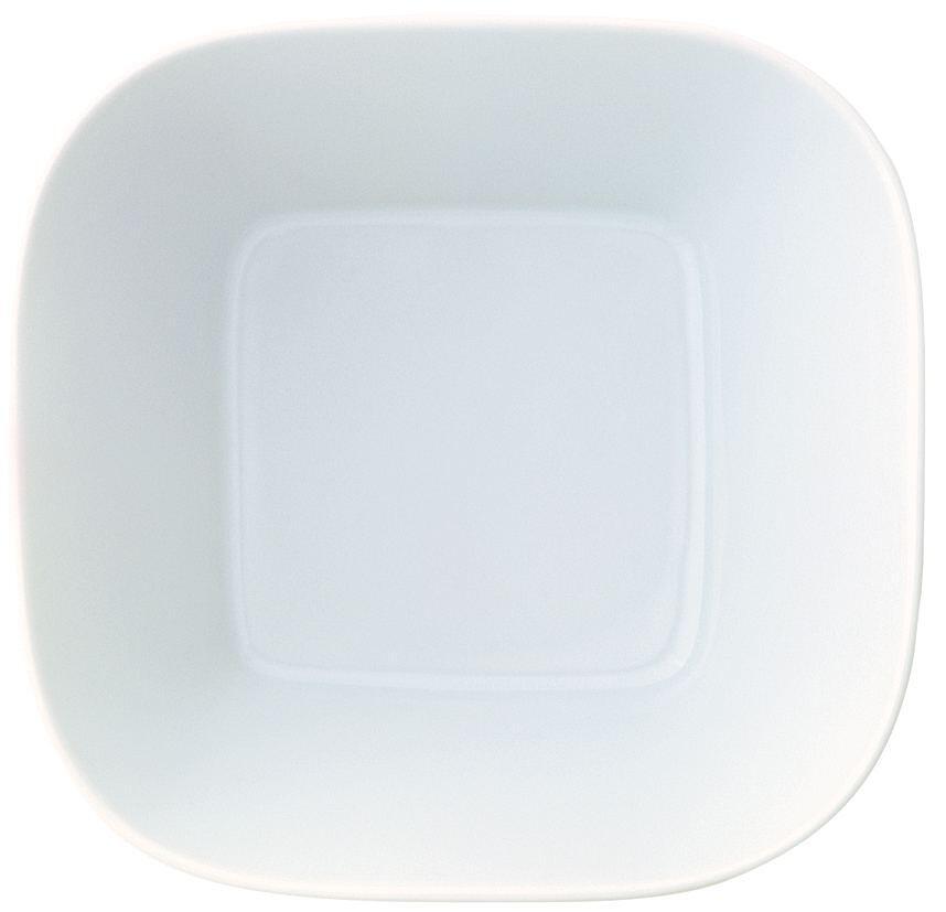 Kahla Cumulus Schale quadratisch 24 x 24 cm in weiß