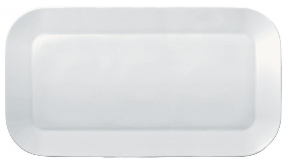 Kahla Cumulus Platte rechteckig 40 x 22 cm in weiß