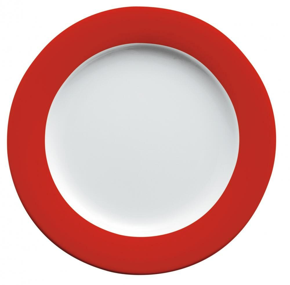 Kahla Pronto Brunch-Teller flach 23 cm in rot
