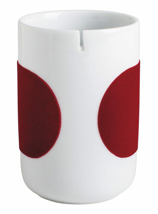 Kahla Five Senses touch! Teebecher in rot