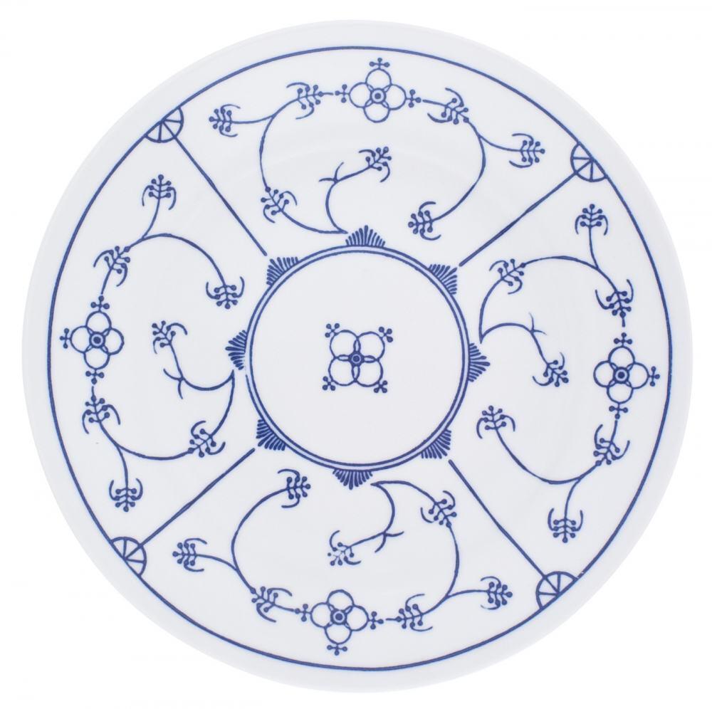 Kahla Tradition Speiseteller 26 cm in Blau Saks