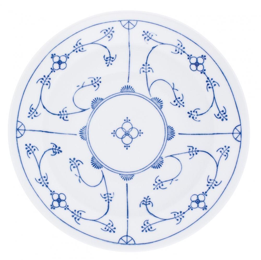 Kahla Tradition Suppenteller 22 cm in Blau Saks