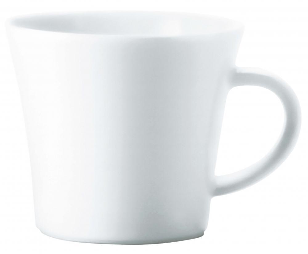 Update weiss  Cappuccinotasse obere 0,22 L neu Kahla Porzellan