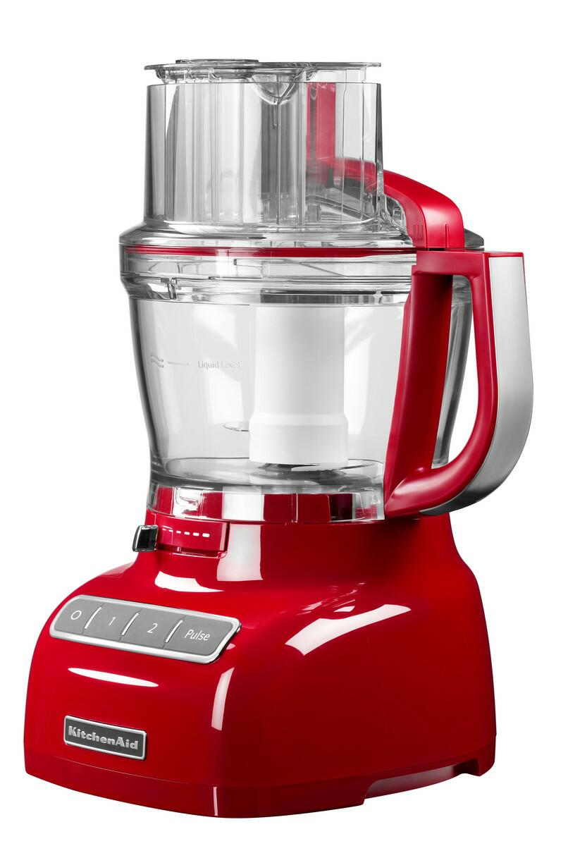 KitchenAid Food Processor 3,1 L in empire rot