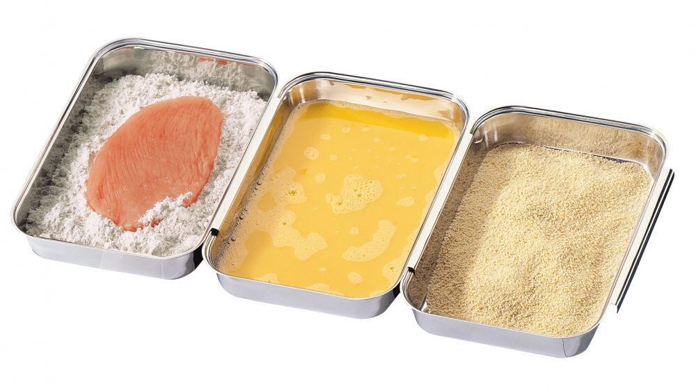 Küchenprofi Panier-Set 3-teilig