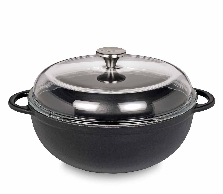 Küchenprofi Schmorpfanne Marmite in schwarz