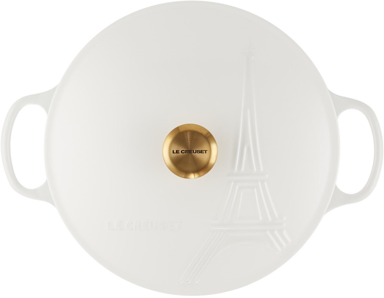 Le Creuset Gourmet-Profitopf Eiffelturm in weiß