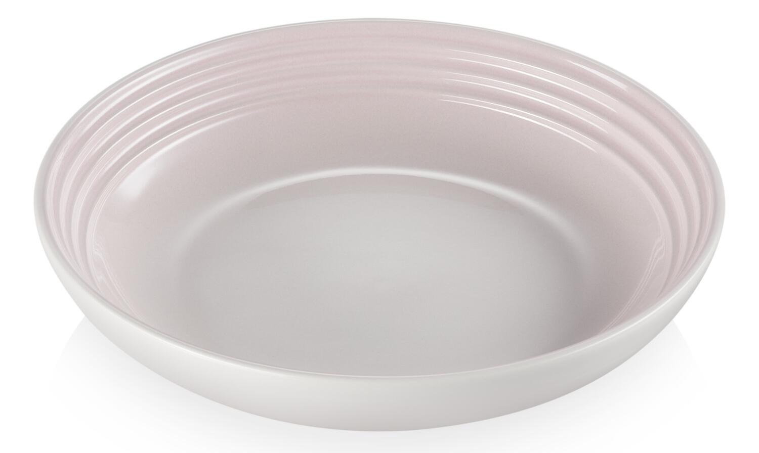 Le Creuset Suppenteller in shell pink