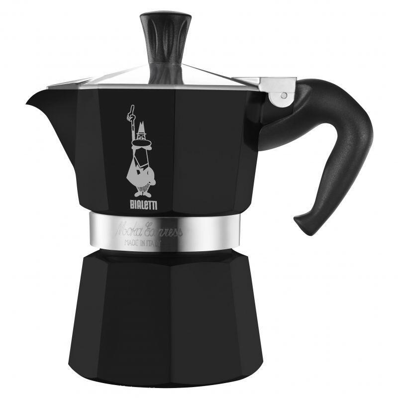 Bialetti Espressokocher Moka Express Black