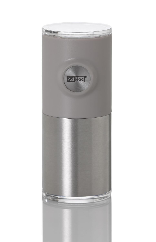 AdHoc magnetische Pfeffer- und Salzmühle Pepnetic in grau