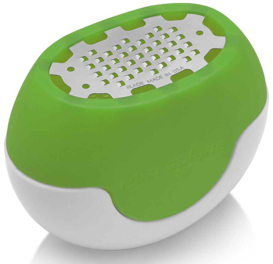 Microplane Zester Flexi Zesti, in grün