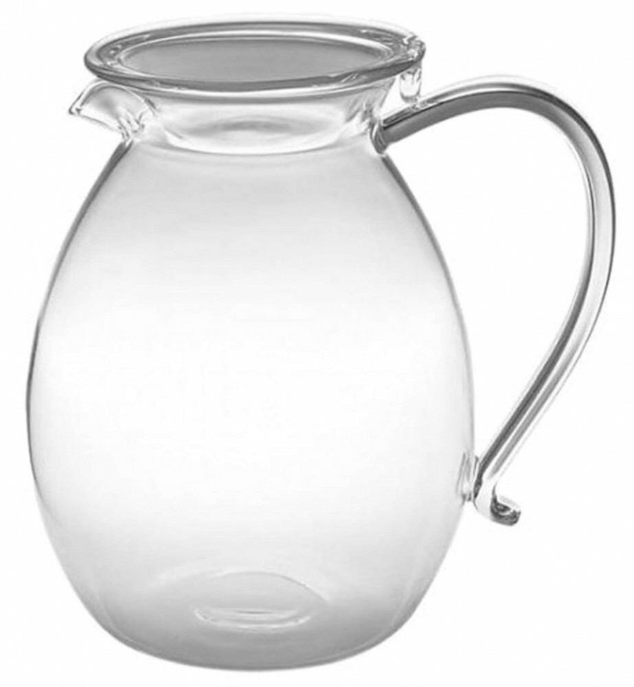 Carl Henkel Glaskrug Mizu mit Glasdeckel