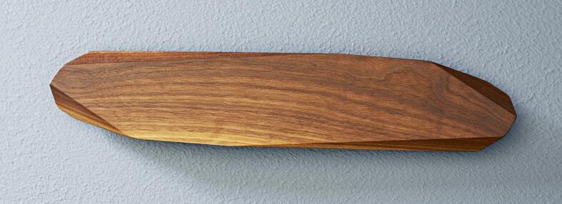 Noyer Magnet-Messerhalter aus Walnussholz