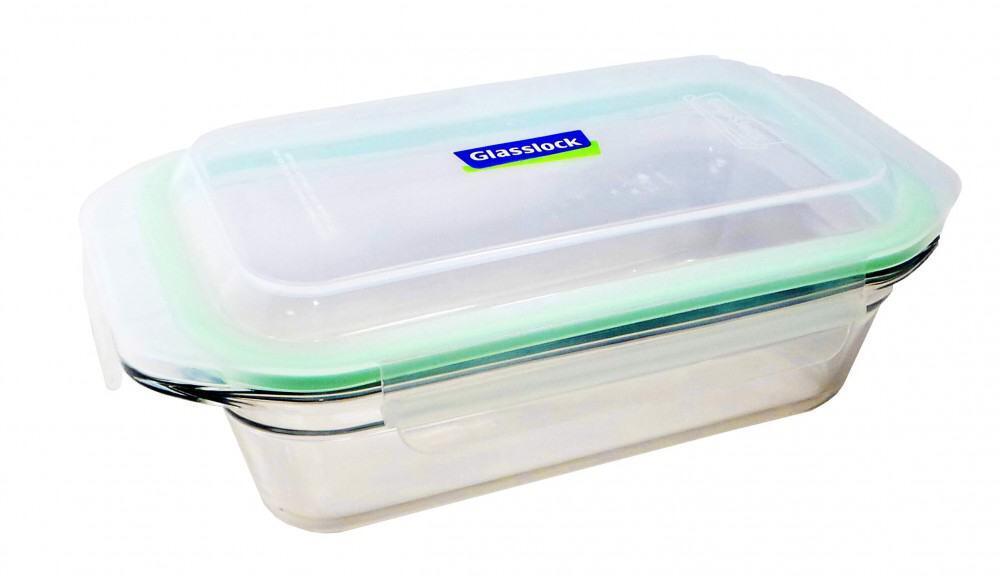 Glasslock Frischhaltebehälter ofengeeignet rechteckig, 1750 ml