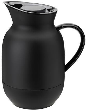 Stelton Isolierkanne Kaffee Amphora in black