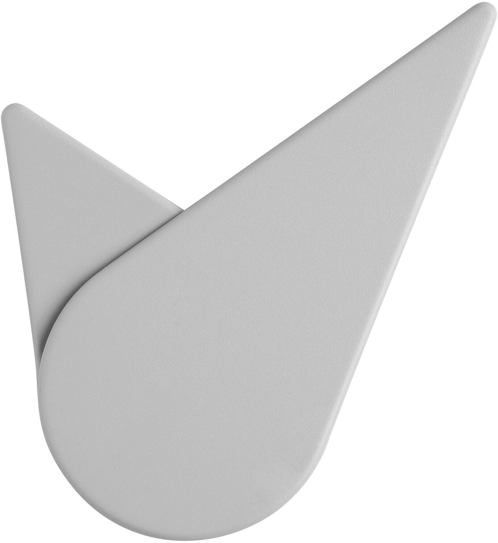 Stelton Wanduhr Birdie, light grey