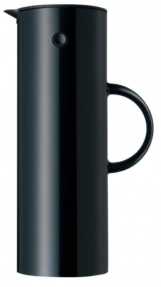 Stelton Isolierkanne EM77 1 l in schwarz