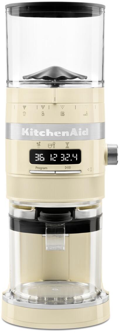 KitchenAid Kaffeemühle in creme