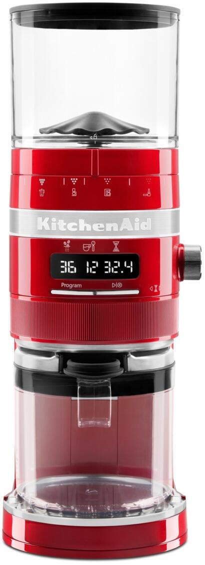 KitchenAid Kaffeemühle Artisan in liebesapfelrot