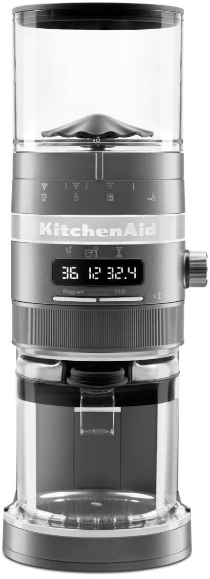 KitchenAid Kaffeemühle Artisan in medallion silber