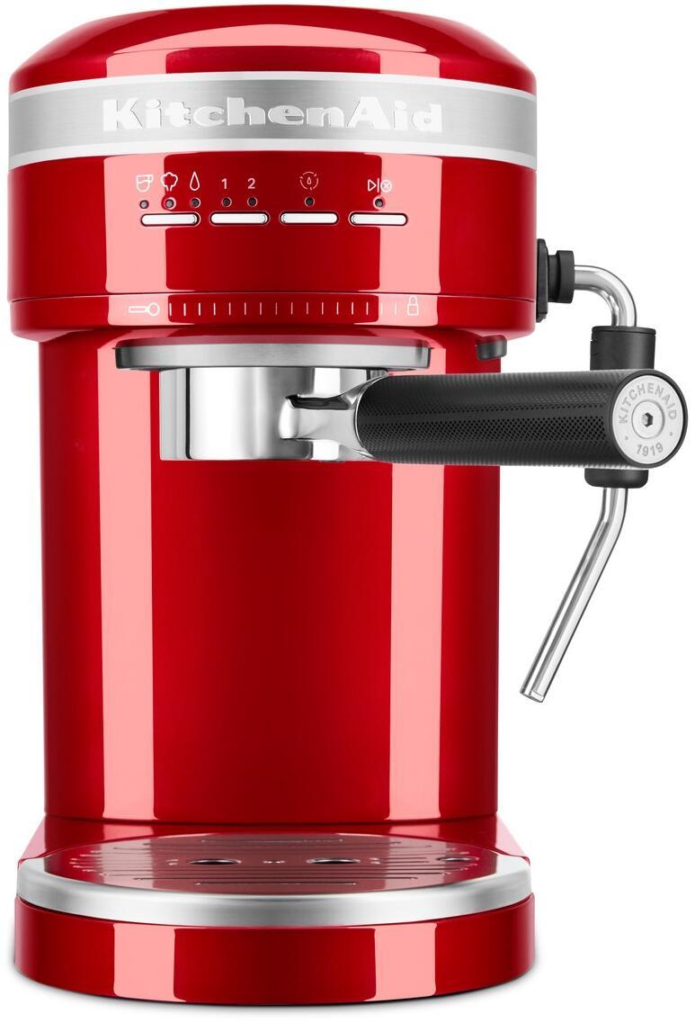 KitchenAid Halbautomatische Espressomaschine ARTISAN in liebesapfelrot