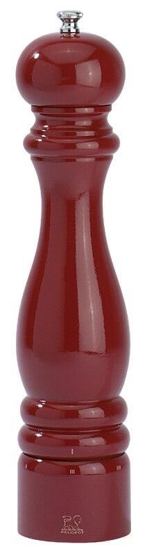 PEUGEOT Salzmühle Paris in Buche rot mit justierbarem Mahlgrad