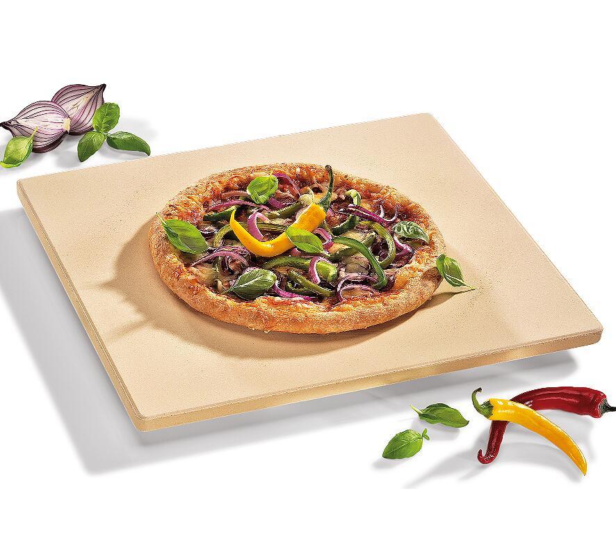 Küchenprofi Pizza-Stein Profi mit Fuß