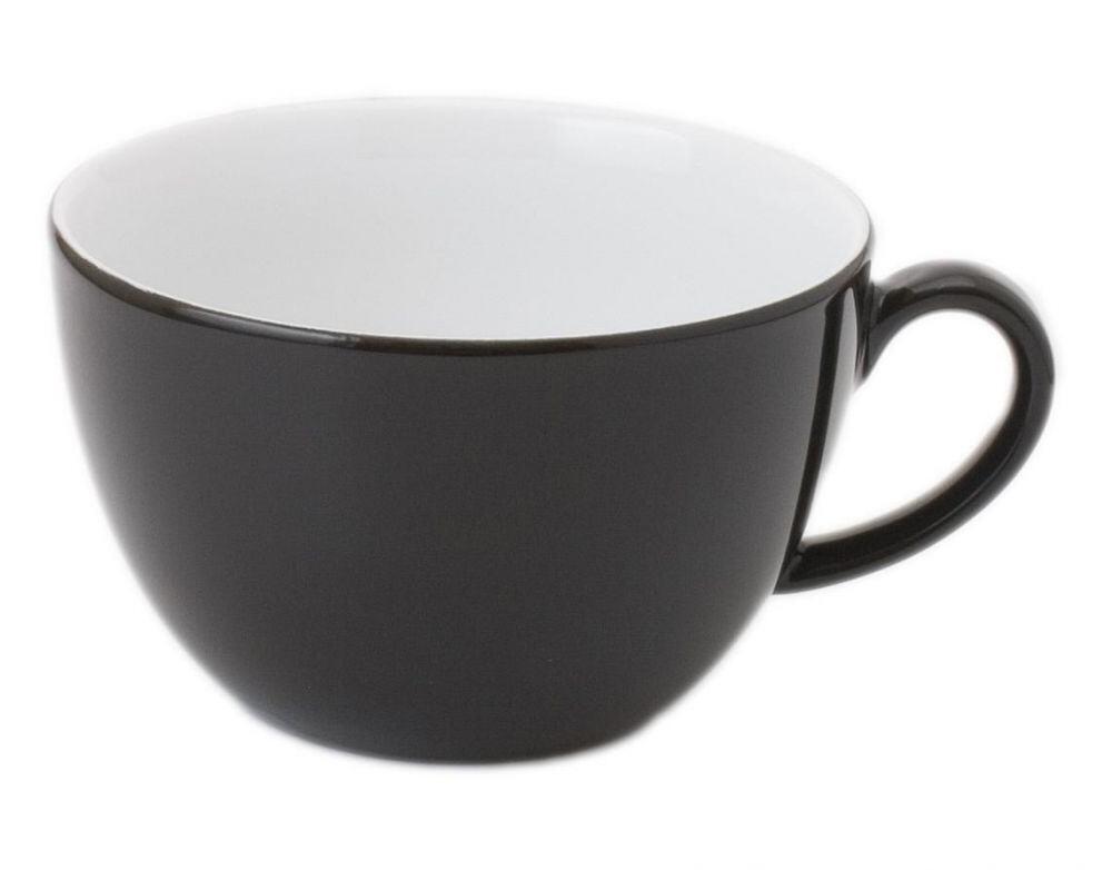 Kahla Pronto Frühstücks-Obertasse 0,40 l in schwarz