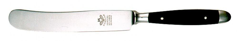 Eichenlaub Tafelmesser Uraltdeutsch in Acryl, schwarz matt