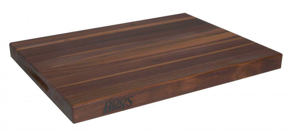 Boos Blocks Schneidebrett Gourmet aus Walnuss, 4 cm