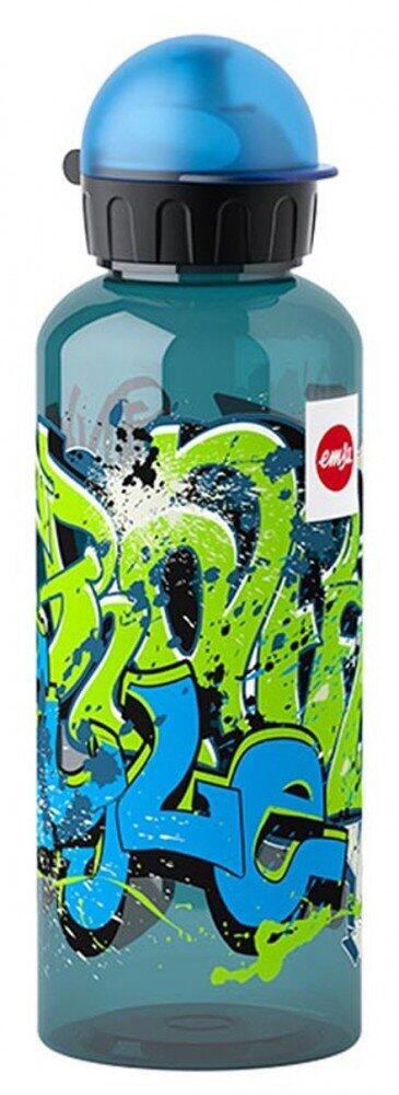 Emsa Teens Tritan Trinkflasche Graffiti mit Trinkverschluss