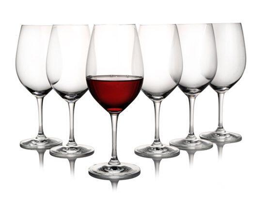 erik bagger Rotweinglas Encore, 6er-Set
