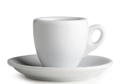 Nuova Point ital. Espressotasse Palermo in weiß